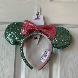 Disney Parks Minnie Mouse Sequined Ears
